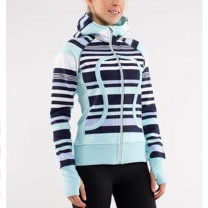 lululemon | scuba hoodie discover stripe